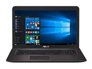 "Asus K756UX-T4166T Notebook [17,3"" FullHD non-glare, Intel i5 6200U, GTX950M, 4GB Ram, 1TB HDD, Win10 Home] für 498,23€ @Amazon.fr"
