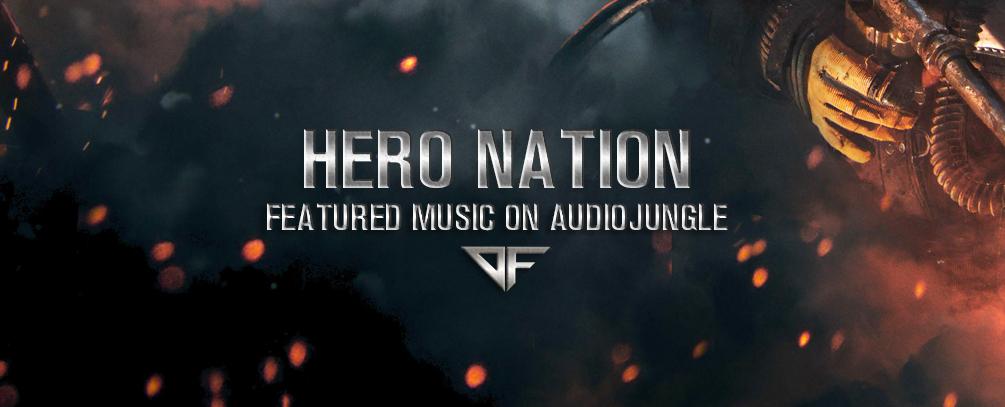 """[Envato/Audiojungle] Kostenloser Cinematic Audio Track """"Hero Nation"""""""