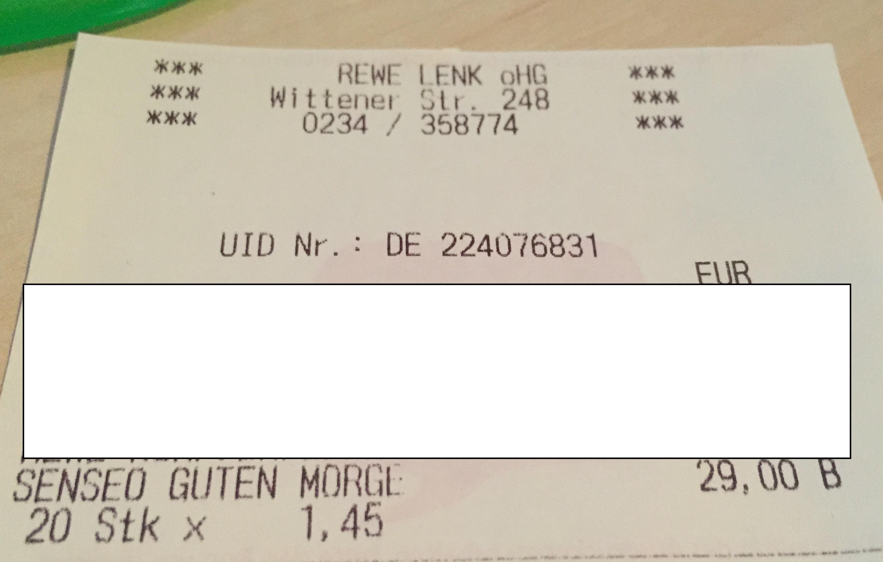 (Lokal? REWE Dortmund Lenk) - Senseo Kaffeepads 1,45 €