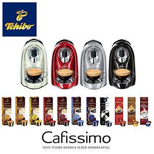 TCHIBO Cafissimo COMPACT +110 Kapseln Kaffee Classics Kapselmaschine @ebay 33,33€