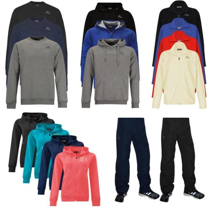 [Ebay] Kappa Fleecejacken, Sweatjacken, Hoodies oder Pants für je 14,95€