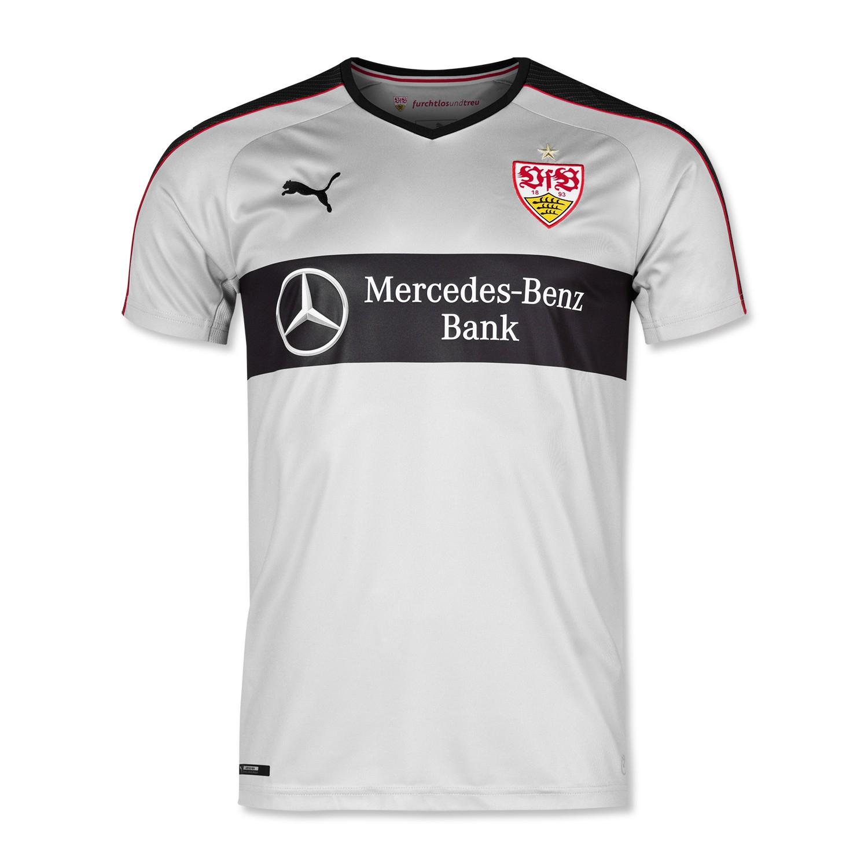 VfB Stuttgart Auswärtstrikot 16/17 grau - 20% Premierenrabatt