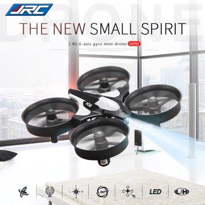 [Gearbest] JJRC H36 2.4GHz 4CH 6 Axis Gyro RC Quadcopter  -  Grau