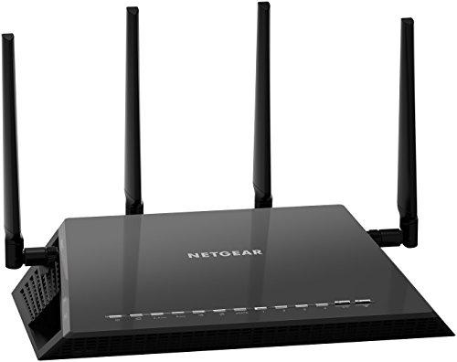 [Amazon Blitzdeal] Netgear Nighthawk R7800-100PES X4S AC2600 Gigabit Wireless 802.11ac Gaming Router (MU-MIMO, 160Mhz, Quad Stream, 2x USB 3.0, eSATA, 2600Mbit/s, Beamforming+) schwarz