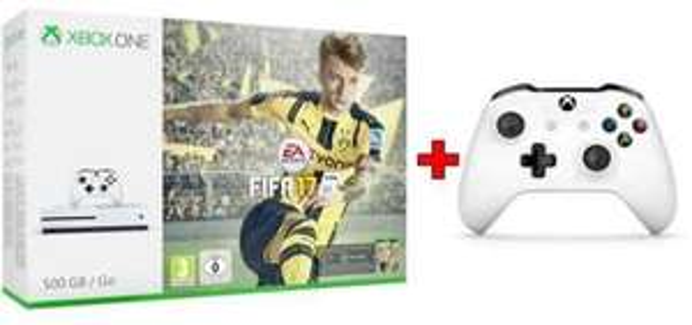 Xbox One S 500GB Konsole + FIFA 17 + 2. Controller eBay 233,99€