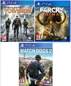 [HD Gameshop] Tom Clancy's The Division (Playstation4/Xbox One] für je 20,49€ oder inc. Far Cry Primal (Playstation 4/Xbox One) für zusammen 33,99€**oder mit Watch Dogs 2 (Nur PS4) für zusammen 54,99€(Einzelpreis Watch Dogs 2=38,99€)