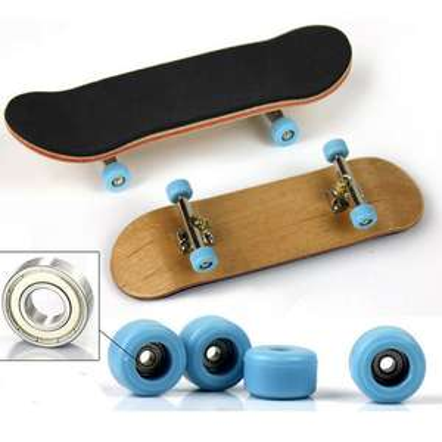 [aliexpress] Ahornholz Finger Skateboard kugellager riptape lenkgummis. top versandkostenfrei
