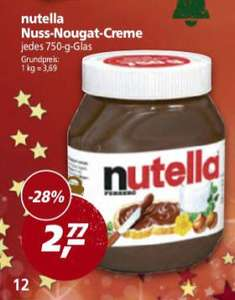 REAL - Nutella 750gr. Glas