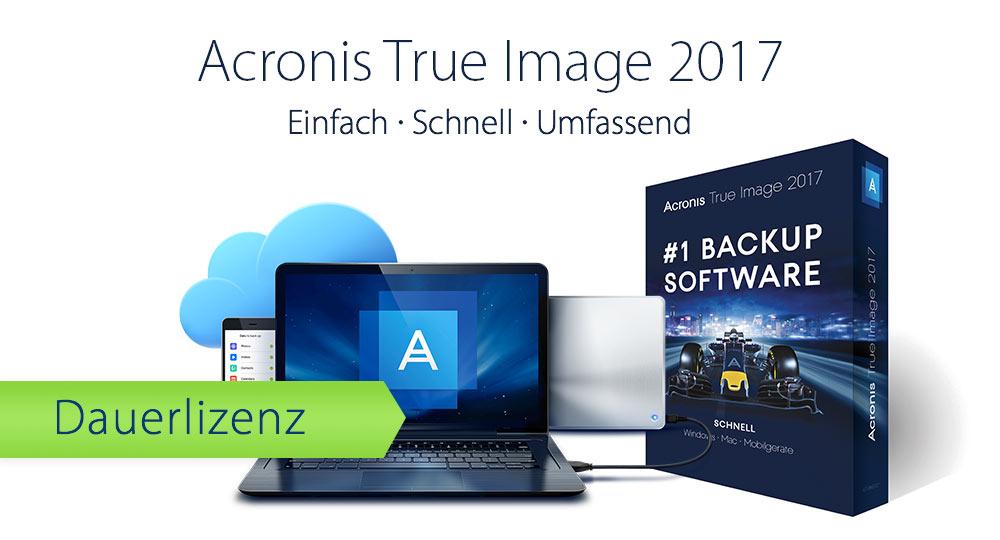 Acronis True Image 2017 ab 19,99 €