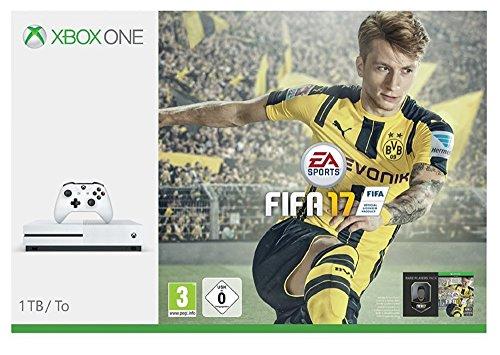 Xbox One S 1TB Konsole (Weiß) Inkl. FIFA 17 für 269€ Inkl. VSK (Amazon.de)