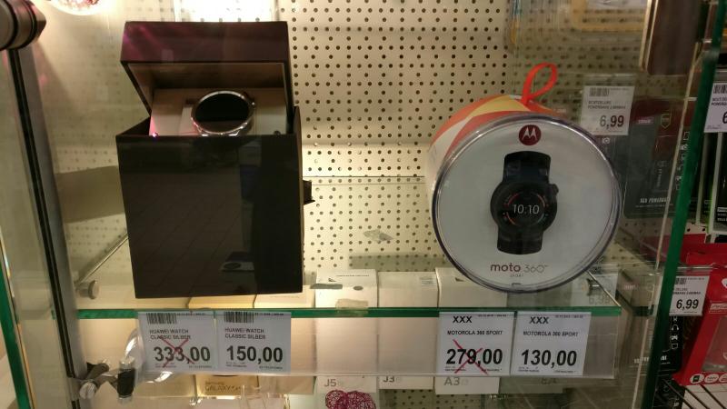 [Marktkauf Münster-Gievenbeck] Huawai Watch Classic/Motorola 360 Sport