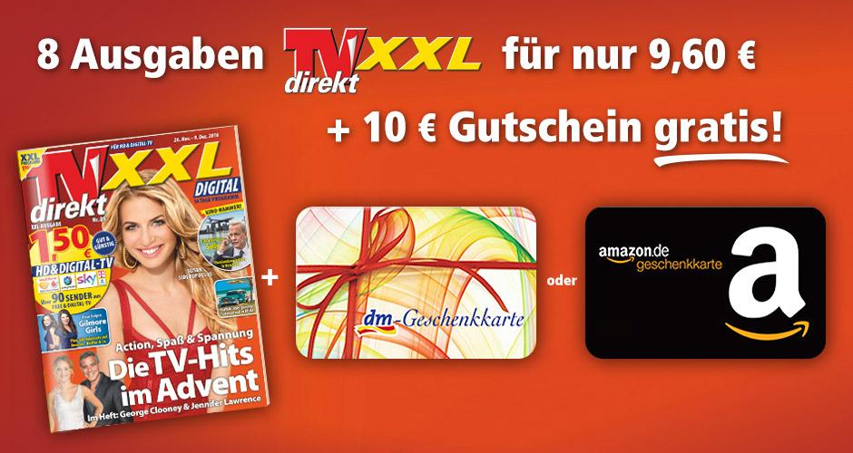 8 Ausgaben TV Direkt XXL mit 0,40€ Gewinn