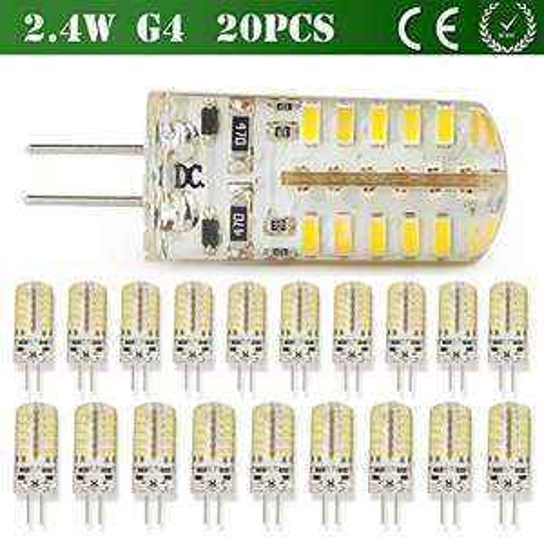 [Amazon PRIME] 20 x G4 LED Epistar 3W Birne Warmweiß/Kaltweiss  0,25 €/Stck.