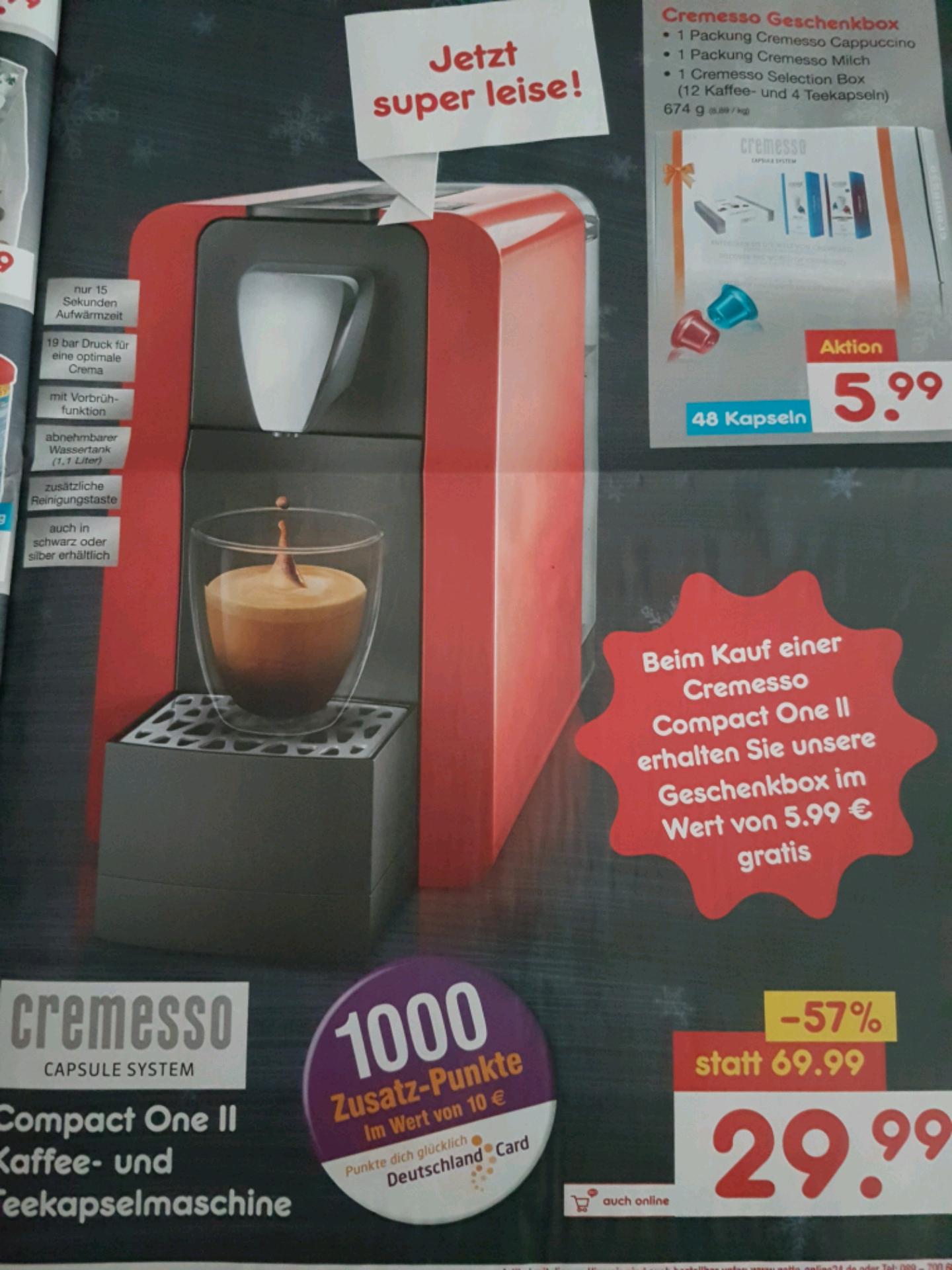 Netto[ohne Hund] ab 19.12 Kapselkaffeemaschine für 29.99€