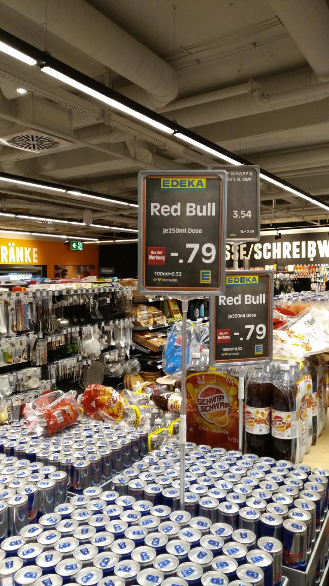 EDEKA Red Bull 0,79€