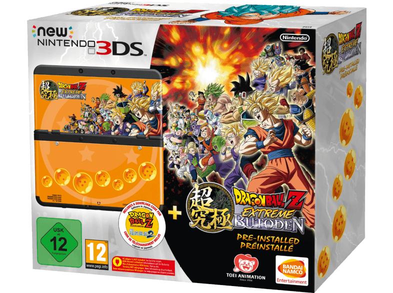 Nintendo New 3DS im DBZ-Stil + Dragon Ball Z: Extreme Butoden für 145€ [Saturn]