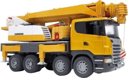 Bruder 03570 Scania Liebherr Kran bei Intertoys 39€ inkl. Versand