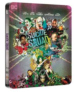[lokal] Suicide Squad 2-Disc Steelbook Blu-Ray @Saturn DO