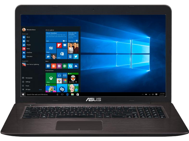 [Media Markt] ASUS R753UX-T4024T Notebook 17.3 Zoll