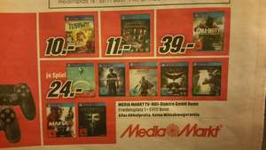 [Lokal Mediamarkt Bonn] The last Guardian / Mafia 3/ Dishonored 2  PS4 (u.a.)