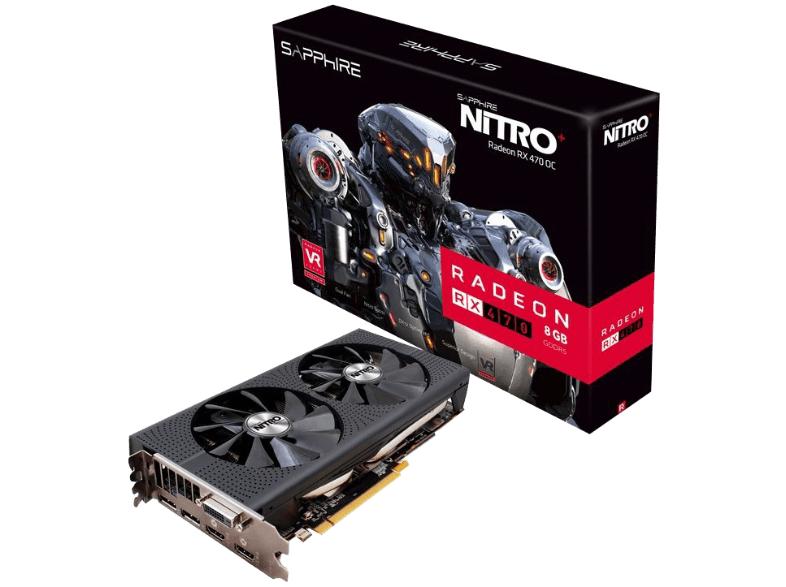 [Saturn Österreich] SAPPHIRE NITRO+ Radeon RX 470 8G D5, 8GB GDDR5, 1x DVI, 2x HDMI, 2x DisplayPort  für 203,50€ inc. Versand nach Deutschland