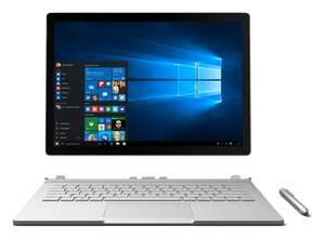 "100. Deal mit Gewinnspiel - Microsoft Surface Book Convertible - i7-6600U, 8GB, 256GB SSD, Nvidia Geforce 940M, 13.5"", 3000x2000 Multi-Touch + Surface Dock + Wireless Display Adapter + Office 365 + 75 Euro Cashback [saturn.de]"