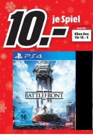 [Lokal Mediamarkt Bayreuth] Star Wars: Battlefront (Playstation 4 und Xbox One] für je 10,-€