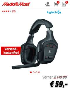 [MediaMarkt Online] Logitech G930 Wireless 7.1 Headset