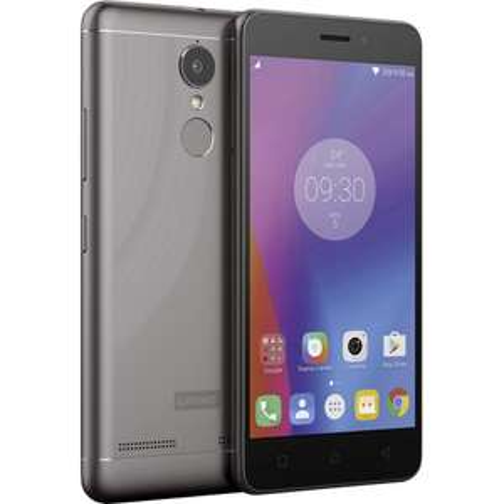 [Conrad] Lenovo K6 LTE-Dual-SIM Smartphone 12.7 cm (5 Zoll) 1.4 GHz Octa Core 16 GB 13 Mio. Pixel Android™ 6.0 Marshmallow Dark grey