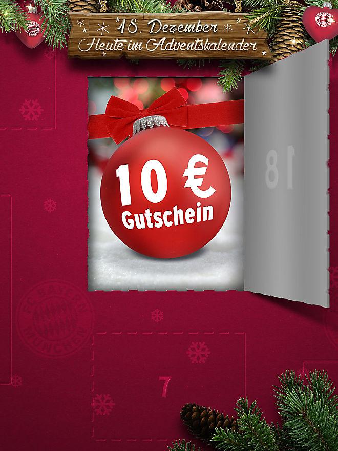 Offizieller FC Bayern Shop 10€ Gutschein (20€ MBW)