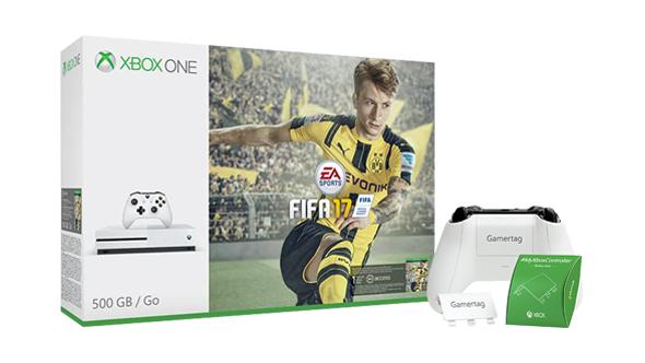 Xbox One S 500GB + FIFA 17 + Dead Rising 4 + 2.Controller für 279€ Inkl. VSK (Microsoft FR)