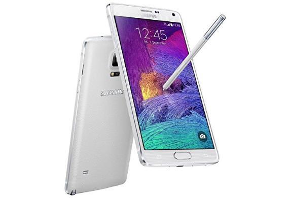 Samsung Galaxy Note 4 (N910) weiß, refurbished