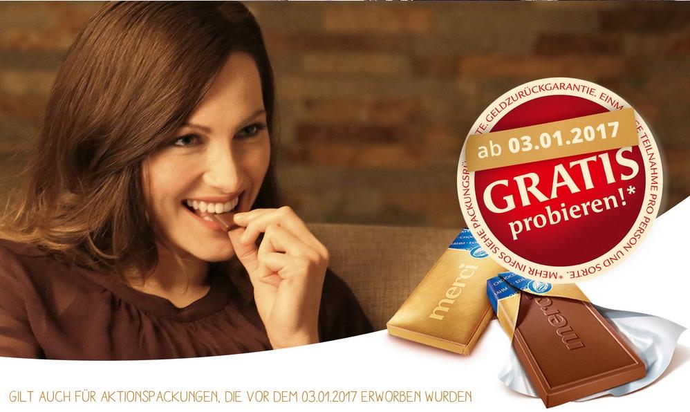 Merci Schokolade Gratis (GzG)