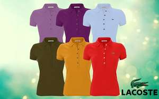 DealLx Shop Lacoste Damenpoloshirt für 30,99 Euro.