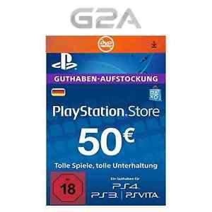 50 EUR Playstation Network Guthaben für 43,69 EUR