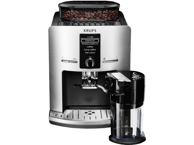 KRUPS EA829E Latt´Espress Kaffeevollautomat (Kegelmahlwerk, 1.7 Liter Wassertank) für 299,-€ Versandkostenfrei [Mediamarkt Schnapp des Tages]