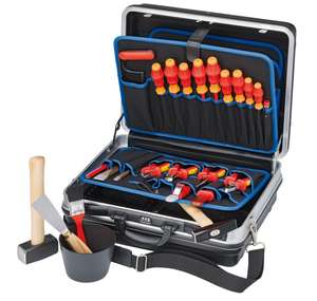 Knipex Montagekoffer Elektro-Installation 24-tlg.