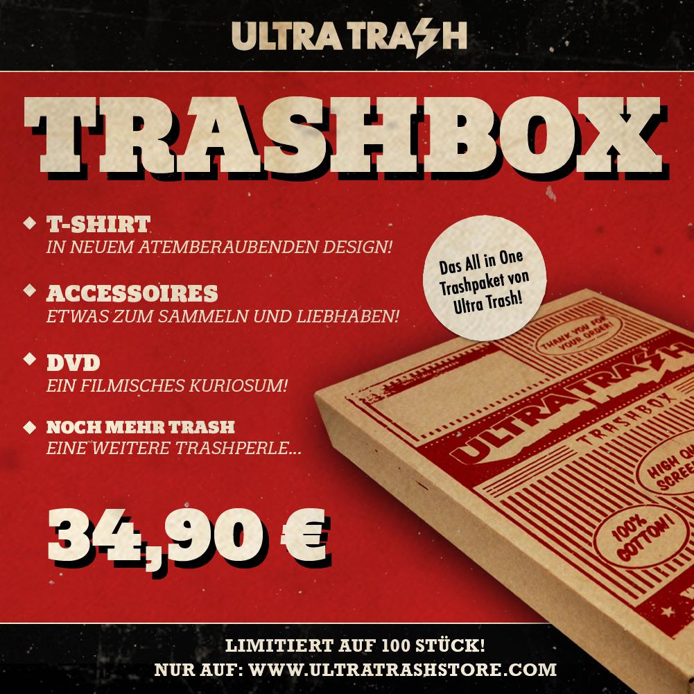 Überraschungsbox für Horror Trash Fans
