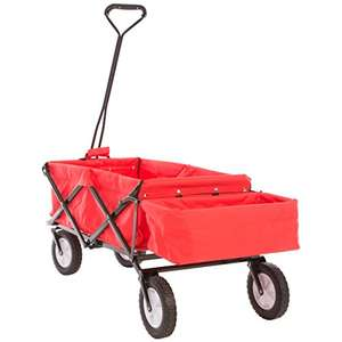 Ultrasport faltbarer Wagen / Bollerwagen / Picknickwagen mit Transporthülle, belastbar bis 55 kg,