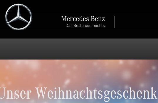 Mercedes-Benz Online Shop: bis zu 30% Rabatt ab 150€ Bestellwert