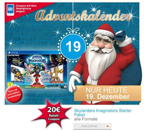 (offline)Müller Adventskalender Skylanders: Imaginators - Starter Pack