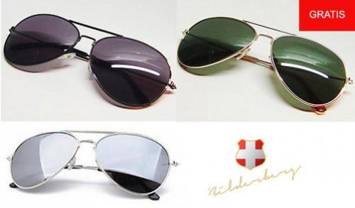 Gratis Sonnenbrille Bilderberg Aviator (5,95 Versand)