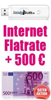 Internet-Flat + Surf-Stick [500€ Auszahlung!!] NUR 14,12€ p.M.