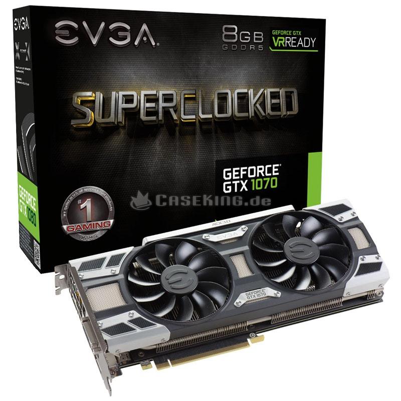 (CASEKING) GeForce GTX 1070 SC Gaming ACX 3.0 8GB