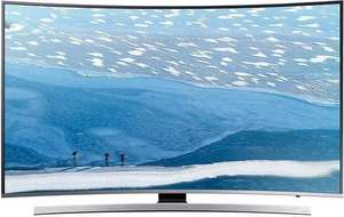 [Orimo] Samsung UE55KU6649 Fernseher 138 cm (55 Zoll) Curved 4K Ultra HD LED-TV, 1600 PQI, Triple Tuner, Smart TV, WLAN