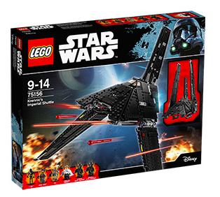 20% Rabatt auf Lego Star Wars und Nexo Knights bei [Real] z.B. LEGO Star Wars™, 75156 Krennics Imperial Shuttle für 63,20€