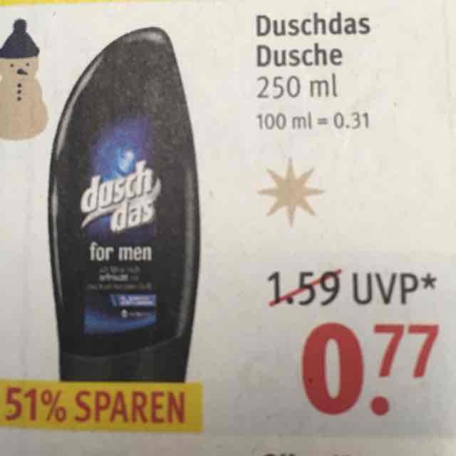ROSSMANN|Duschdas für nur 0,70€ mit der Rossmann App!