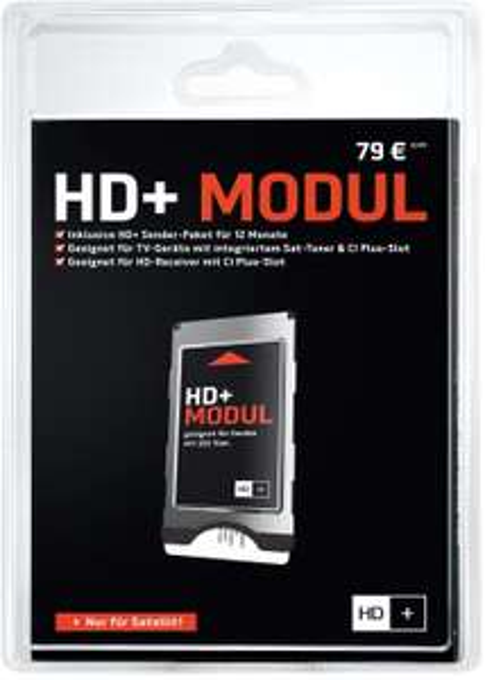 [AMAZON] HD+ Modul (HD Plus) + 12 Monate Karte für 59,90 EUR