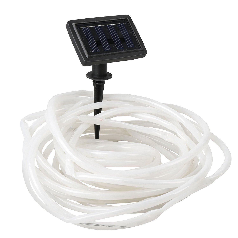 Amazon Prime:Cogex 403646 Lichterkette Solar Kordel Kunststoff schwarz 10 m