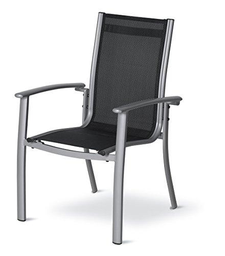 Amazon Prime: Dajar Esstühle Stapelsessel Stuhl Acapulco, silber